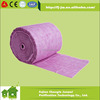 Air filter element, spray booth pocket filter media, nonwoven fabric