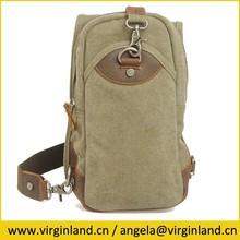 Army Green Practical Single Shoulder Strap Sport Backpack for Men