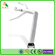 white color mini inflatable sky air dancer dancing man for advertising