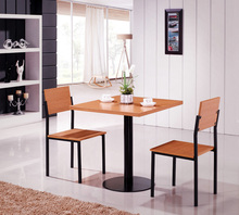 E0732 sample dining table and 2 chair/ modern dining room table/dining room table wood