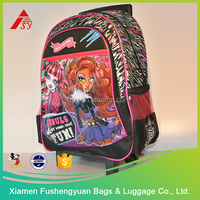 High Quality Factory Price 600D polyester custom printing trolley bag