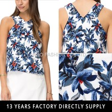 2015 New Summer Trees Pattern Printed Sexy Lady Tube Top