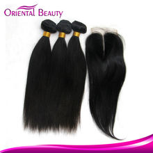 Most prevailing China hair factory supply crochet smooth beauty queen hair weft Indian straight hair extension