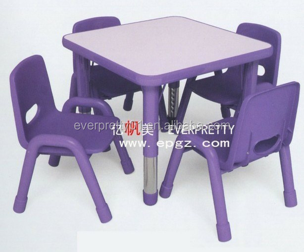 jardin d 39 enfants et l 39 cole maternelle table en plastique. Black Bedroom Furniture Sets. Home Design Ideas