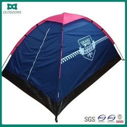 Pink roof 2 logo camping tents