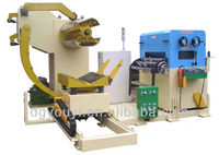 Hot precision NC Servo rolling plate leveling uncoiling and feeding machine(China manufacturer)