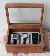 Chinese supplier popular wooden watch box for watch packing