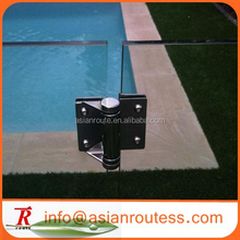 swimming pool fence gate glass to glass hinge