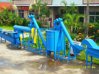PET PP PE plastic recycling cleaning line 500kg/hr-2000Kg/hr