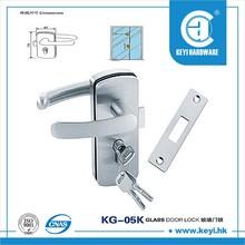 French door mortise lock one side sliding door locks 05K