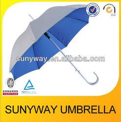 23inches 8ribs light aluminium sun umbrella