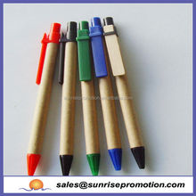 Promotional Eco Recycle Kraft Paper Pen,Paper Pen