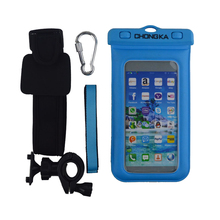 Smartphone Unbreakable and Portable Phone Waterproof Bag with Armband
