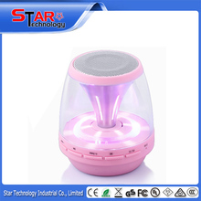 2015 hot wireless & portable bluetooth speaker, mini bluetooth speaker with LED light