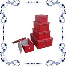 folded design cardboard box