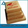 E flute corrugated paper made 2015 hot sale pizza box for delivery