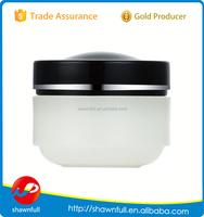Round10g empty plastic cosmetic jar for hand cream