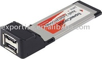 add 2 eSATA II 3.0 Gbps ports to Laptop / Notebook PC, ExpressCard 34mm Slot NEW