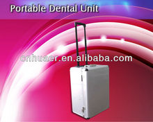 6 holders portable dental unit hot sale with high suction