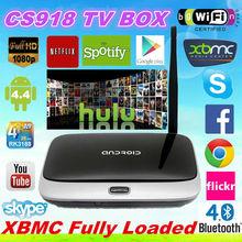 XBMc kodi fully loaded MK888 Q7 cs918 Android TV Box RK3188 2GB/8GB Quad Core Mini PC Smart TV Media Player with Remote Control
