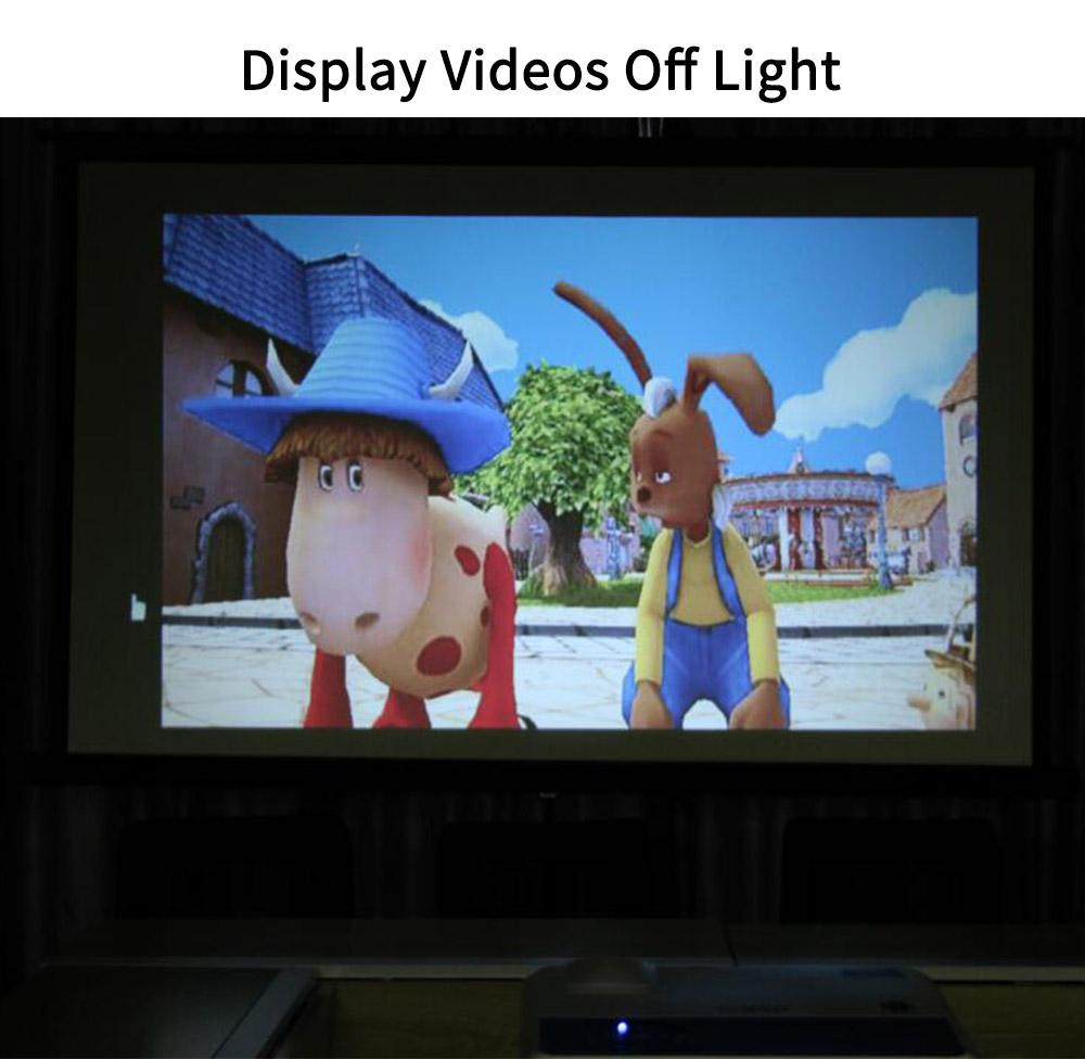 Tela espelhamento sem fio 3600 Lumens casa android levou projetor
