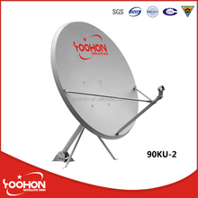 Ku Band 90cm Dish Antenna Pole Mount Dish Antenna