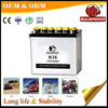 Best price N36 12v 36ah dry charged battery,CE japan car battery,batterie auto