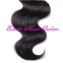 Exotichair human hair ponytail extension hair weft 1kg