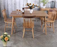 Antique Wooden Used Dining/Restaurant Tables and Chairs For sale