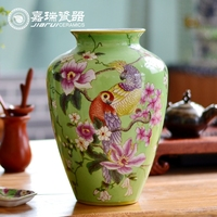 Antique Chinese Hand painted Porcelain Flower vase in home decor