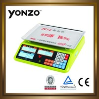 digital vegetable weighing price computing scale bascula yz 988