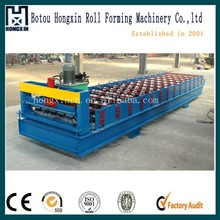 Hot Dipped Galvanised Steel Roofing Sheet Making Machine for Building Materials
