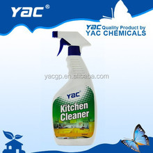 Hot sell spray bottle liquid Kitchen oil cleaner