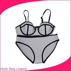 Bulk Stocks Cheap Neoprene Sexy Bandage Monokini Bikini