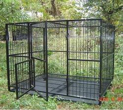 outdoor heavy-duty large dog cage(alibaba china)