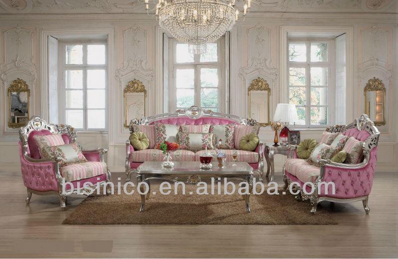 Meubles de salon de luxe orn style royales europ ennes et ensembles de sofa for Meuble de salon de luxe