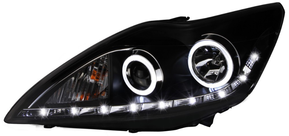 Car parts accessories for ford focus 2009 2011 xenon projector headlights