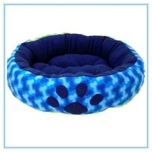 promotional soft plush paw print dog bed wholesale