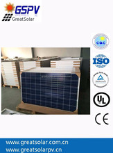 GSPV solar panel 250w, polysolar panel price for home 1kw 2kw 3kw power system