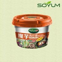 shirataki instant soup noodles/low-calorie konjac cup noodle