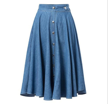 EY0548A HOT Selling 2015 Tall waist pure color metal buckle cowboy short skirt in front of it