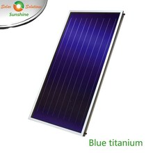 High Efficiency Flat Plate Solar Thermal Collector