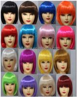 Boys and girls festival performances supplies students BOBO head hair colour cartoon small apples wig