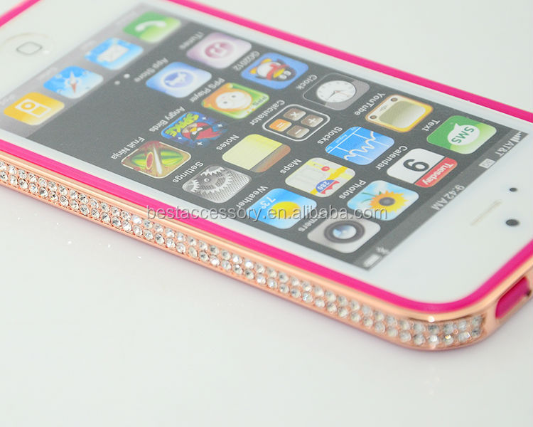 Luxury Diamond Bumper for iphone 5,Bling Frame for iphone 5s