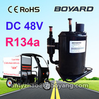 Cold chain logistics last mile DC compressor JVB058Z48 rotary type for transportation refrigeration tricycle container