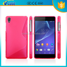 Soft Hand feeling Solid Color TPU phone Case For BlackBerry Z3