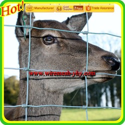 Goat proof stock fence