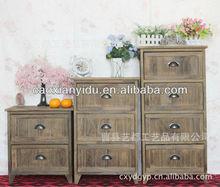 European style furniture / Nightstand/ Antique Wooden Cabinet