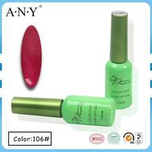 ANY Hot Selling Nail Art Beauty Curing Soak Off 12ML Gel Nail Polish Miss Rose