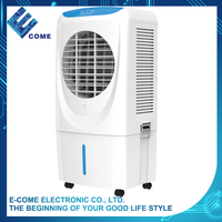 130W classic white 20L standing water air cooler cooling fan